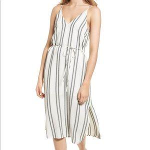 ASTR the Label Estrella Striped Midi Dress